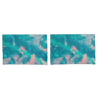 Raindrops Abstract Pillowcase
