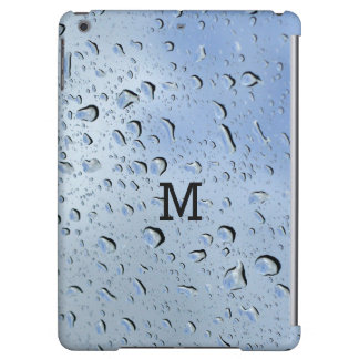 """Raindrops"" custom monogram device cases Case For iPad Air"