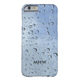 """Raindrops"" custom monogram phone cases"