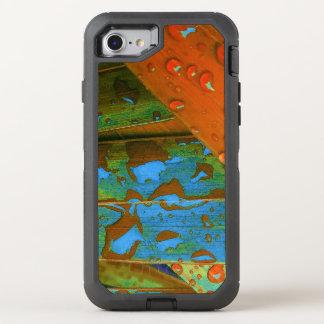 Raindrops Go Tropical OtterBox Defender iPhone 8/7 Case