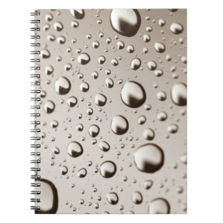 Raindrops Notebooks