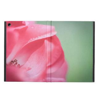Raindrops on a rose iPad air case