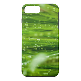 Raindrops on blades of grass iPhone 8 plus/7 plus case