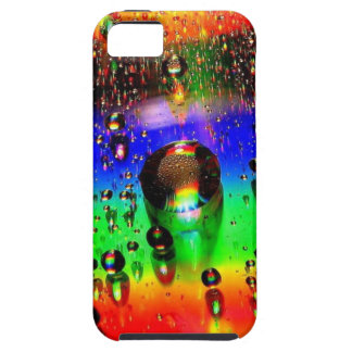 Raindrops on colors iPhone 5 cases