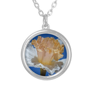 Raindrops on Daffodils Silver Plated Necklace