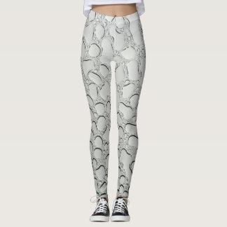 Raindrops on Glass Pattern Leggings
