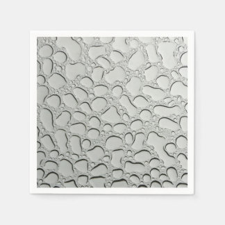 Raindrops on Glass Roof Disposable Napkin