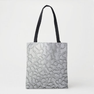 Raindrops on Glass Roof Tote Bag