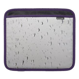 raindrops on ipad sleeve