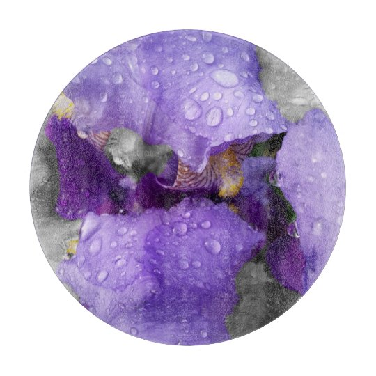 raindrops on iris boards