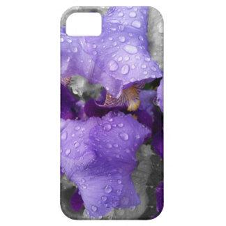 raindrops on iris iPhone 5 case