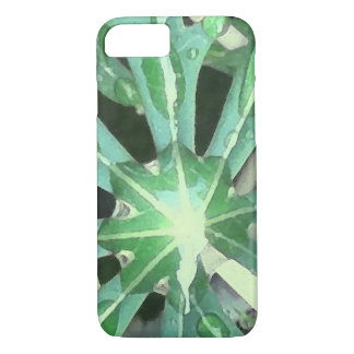 Raindrops on Leaves iPhone 8/7 Case