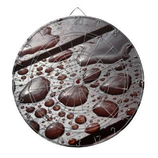 Raindrops on the Picnic Table Dartboard