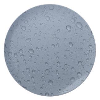 Raindrops photo plate