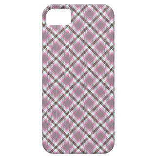 """Raindrops"" tartan print Case For The iPhone 5"
