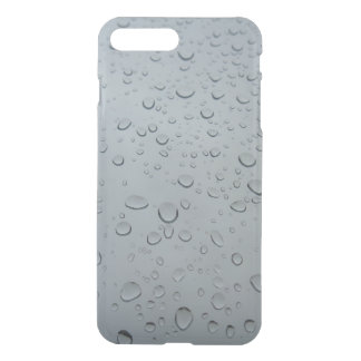 Raindrops, Water Drops, Rainy Window, Raining iPhone 7 Plus Case