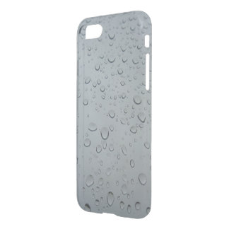 Raindrops Water Drops Rainy Window Raining Weather iPhone 7 Case