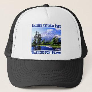 Raineer National Park - Washington State Trucker Hat