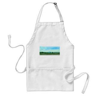 Rainer water color standard apron