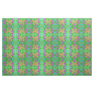 "Raine's Flowery Fabric: Combed Cotton (56"" width) Fabric"