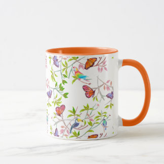 Rainforest Butterfly mug