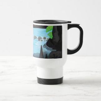Rainforest Cave Stainless Steel Travel Mug
