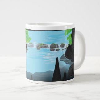Rainforest Cave Jumbo Mug