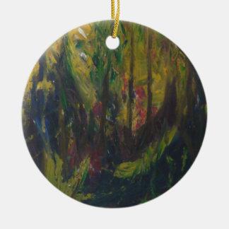 Rainforest Ceramic Ornament