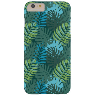 Rainforest Jungle Leaf Pattern Barely There iPhone 6 Plus Case