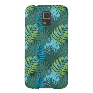 Rainforest Jungle Leaf Pattern Galaxy S5 Case