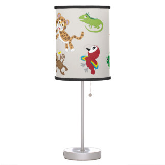 Rainforest Jungle Nursery Lamp