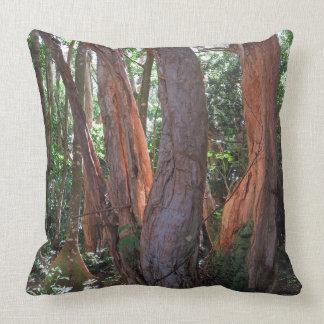 Rainforest Light Throw Pillow