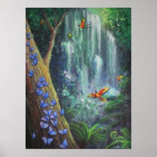 Rainforest Magic Poster