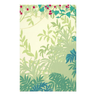 Rainforest Plants Stationery