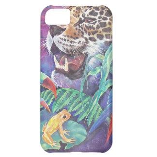 Rainforest Wildlife in Harmony Case For iPhone 5C