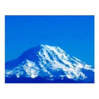 Rainier has the Blues Postcard