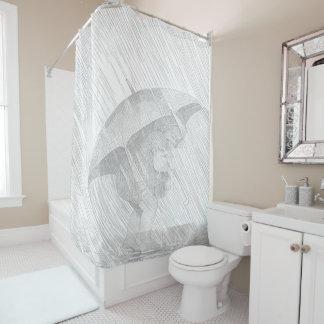 Raining 2 Shower Curtain