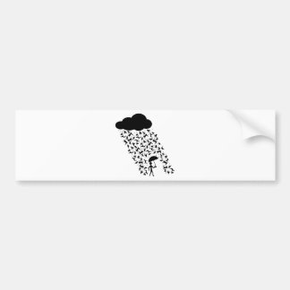 Raining Cats and Dogs Bumper Sticker