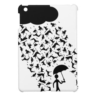 raining cats and dogs cover for the iPad mini