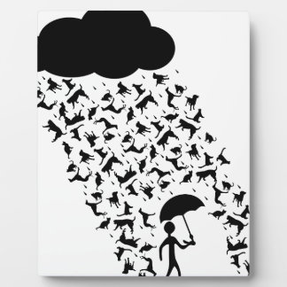 Raining Cats and Dogs Plaque