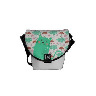 Raining Cats Commuter Bag