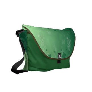 Raining Clover Courier Bag