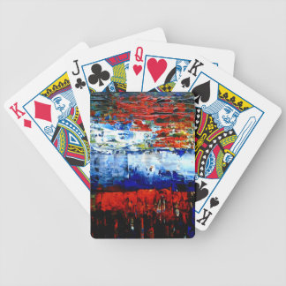 Raining in Battersea Bicycle Playing Cards