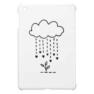 Raining love iPad mini cover