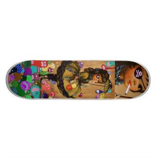 Raining Monsters Skateboard Decks