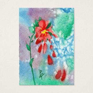 Raining Petals Art Card