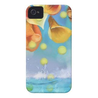 Raining tennis balls over the sea. Case-Mate iPhone 4 case