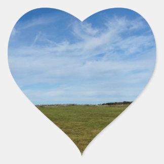 Rains Farm St Joseph Island Heart Sticker