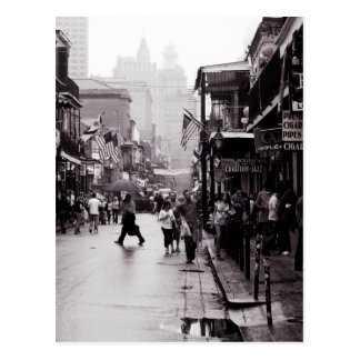 Rainy Bourbon Postcard
