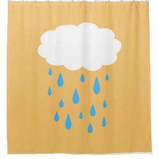 Rainy Cloud Shower Curtain